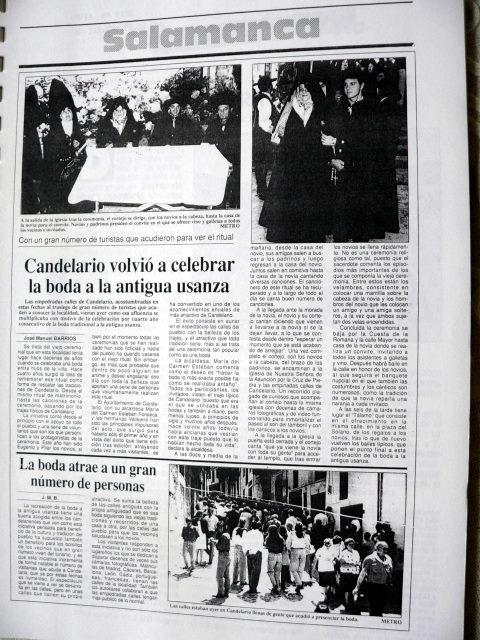 Boda típica 1992